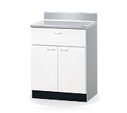 高級木製調理台 幅70cm W700×550×800(890)mm BT-70T 組み合わせキッチン
