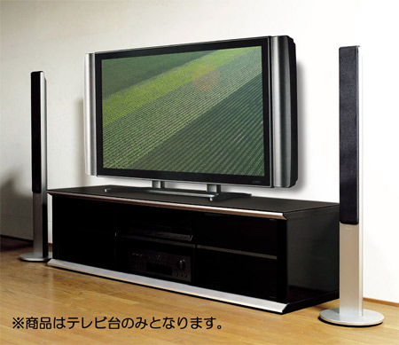 ■在庫限り・入荷なし■テレビボード 52V型 ブラック クローズタイプ ( AVボード テレビ台 TVラック 送料無料 )