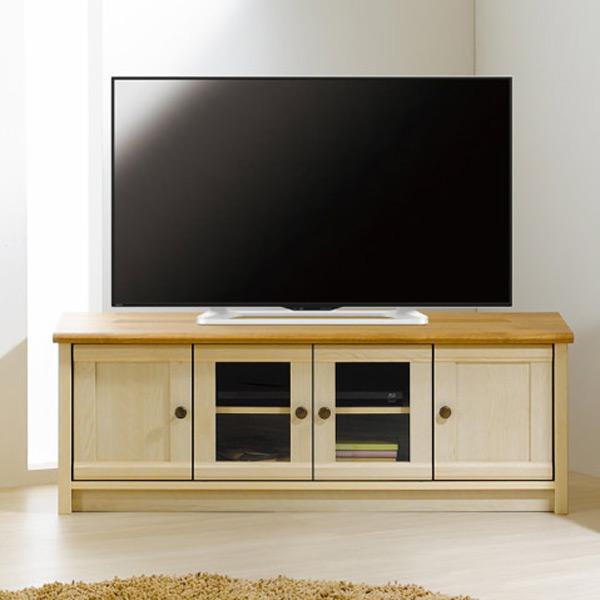 テレビ台 ローボード フレンチカントリー Milfie 幅120cm ( 送料無料 TV台 TVボード テレビボード AVボード 中型 大型 47インチ 収納 デッキ DVD )