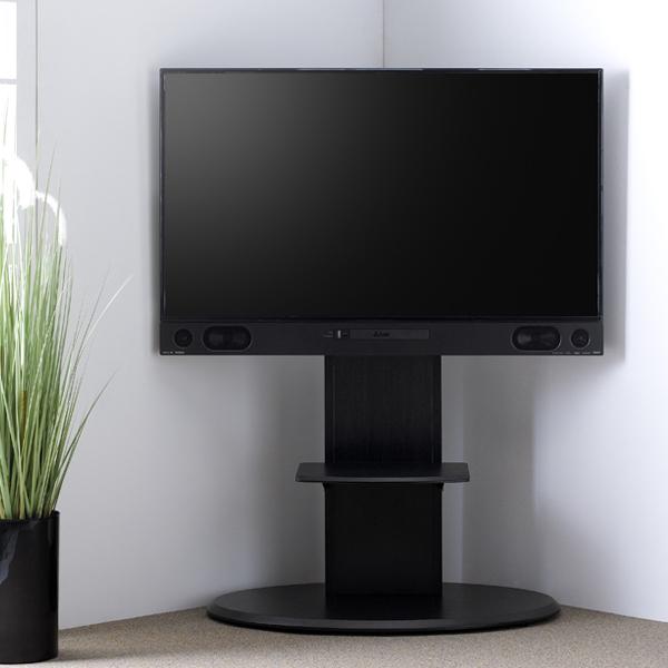 テレビスタンド 壁寄せ テレビ台 65V型・BDデッキ付対応 ベース幅90cm ( 送料無料 テレビボード テレビラック TV台 TVスタンド TVボード 壁よせ 壁掛け風 シンプル おしゃれ スタイリッシュ ブルーレイ内蔵テレビ対応 )