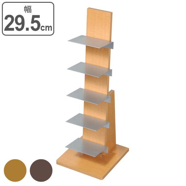 本棚 ブックタワー 積み重ね ロータイプ 幅29.5cm ( 送料無料 棚 ラック 収納 ディスプレイラック シェルフ オープンラック 飾り棚 書棚 収納ラック 本収納 本 )