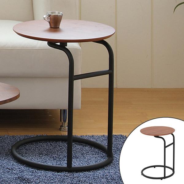 テーブル サイドテーブル ビーク ( 送料無料 カフェテーブル コーヒーテーブル ナイトテーブル 机 サブテーブル 木製 丸型 円形 花台 電話台 )