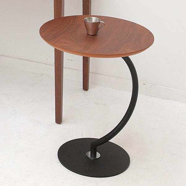 テーブル サイドテーブル ブラス ( 送料無料 カフェテーブル コーヒーテーブル ナイトテーブル 机 サブテーブル 木製 円形 丸型 花台 電話台 )