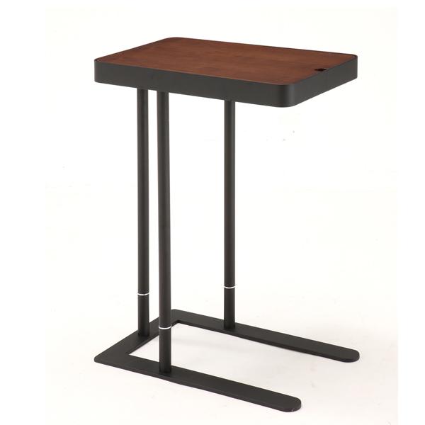 高さ2段階調節可能 天板下には収納スペースも テーブル サイドテーブル ノエル 送料無料 割り引き 高級な カフェテーブル コーヒーテーブル スクエア 机 収納付きテーブル ナイトテーブル サブテーブル 木製 角型