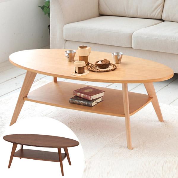 テーブル リビングテーブル CREPE 幅110cm ( 送料無料 コーヒーテーブル センターテーブル ローテーブル 机 つくえ 収納 サイドテーブル リビング )