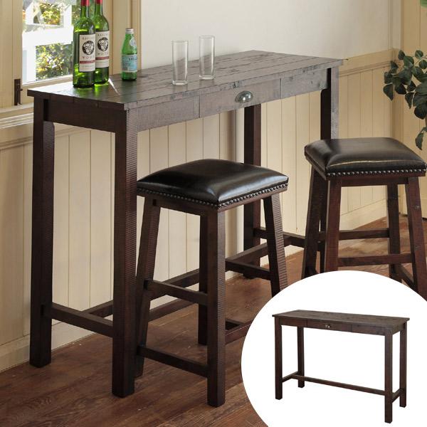 テーブル カウンターテーブル NOSTA ( 送料無料 ハイテーブル テーブル 木製 机 ダイニングテーブル デスク バーテーブル ハイデスク 天然木 2人用 二人用 ダイニング 2人掛け )