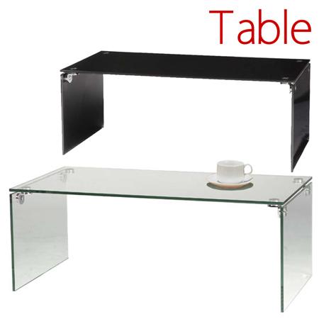 ガラステーブルL The glass interior ( センターテーブル リビングテーブル ローテーブル コーヒーテーブル 机 ガラステーブル 送料無料 )
