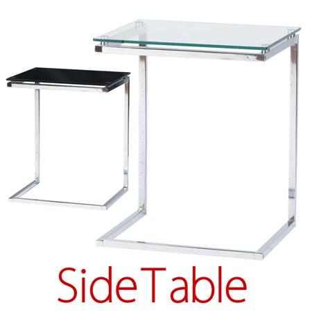 ソファ・ベッド用サイドテーブル ( ガラステーブル 送料無料 )