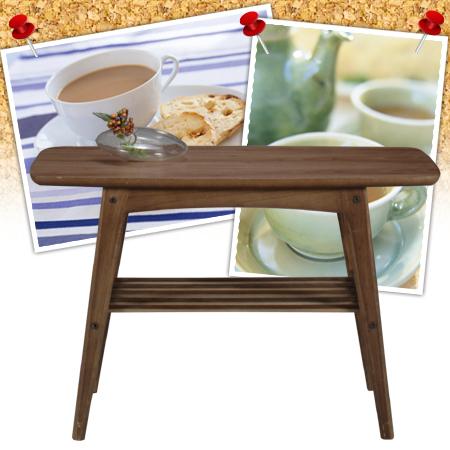 コーヒーテーブル トムテ 幅75cm( センターテーブル サイドテーブル 机 )【送料無料】