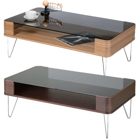 コーヒーテーブル Lumas L ( センターテーブル ローテーブル リビングテーブル 机 ガラステーブル 送料無料 )