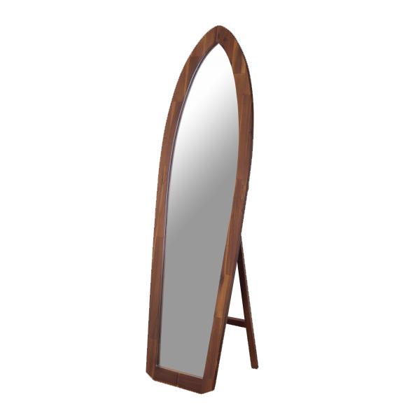 スタンドミラー 高さ160cm 姿見 天然木 ( 送料無料 鏡 全身鏡 ミラー 全身かがみ 全身ミラー すがたみ かがみ 全身 木製スタンドミラー 木製フレーム )