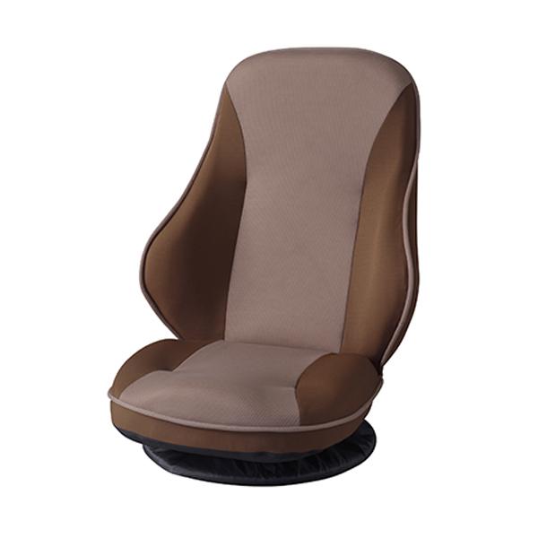 回転座椅子 バケットシート風 リクライニング 座面高18cm ( 送料無料 座椅子 ローソファー ソファー ソファ 1人 1人掛け 回転 一人暮らし チェア チェアー 座イス フロアチェア 完成品 リビング ワンルーム おしゃれ 快適 )