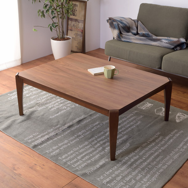 こたつ テーブル 幅90cm コタツテーブル 木製 天然木 角型 ( 送料無料 コタツ 炬燵 こたつテーブル 長方形 家具調こたつ ローテーブル センターテーブル 薄型ヒーター おしゃれ )