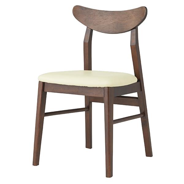 チェア 座面高45cm オフィス 椅子 イス 合皮 木製 天然木 ( 送料無料 いす ダイニングチェア 木製チェア 食卓椅子 リビングチェア 木製椅子 ダイニング 食卓 おしゃれ 北欧 リビング )