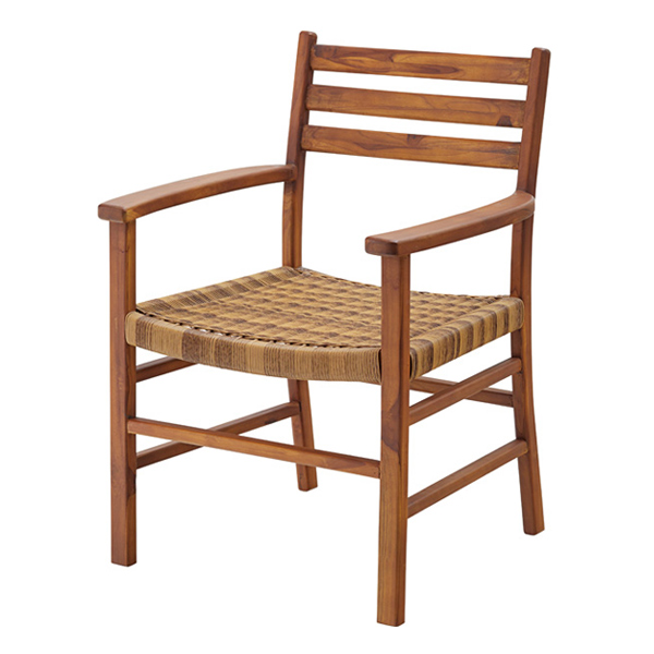 希望者のみラッピング無料 あたたかな色味が美しいチェア ダイニングチェア 座面高45cm 木製 天然木 アーム付 ひじ掛け 椅子 イス チェア 北欧 送料無料 チェアー ダイニング リビングチェア おしゃれ トラスト 食卓椅子 木製チェア いす リビング 肘付き 食卓 ダイニングチェアー