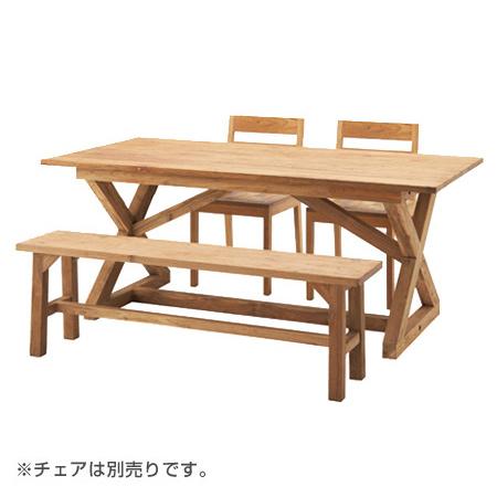 ダイニングテーブル ビビア ( 送料無料 食卓机 机 4人掛け 5人掛け ナチュラル カントリー テイスト 木製 )