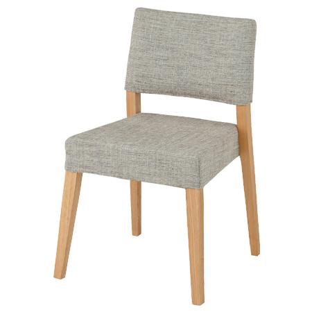 ダイニングチェア 椅子 ヘンリー スタッキング 天然木 ( 送料無料 チェアー いす 積み重ね 布張り デスクチェア パソコンチェア )