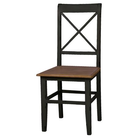 ダイニングチェア 椅子 ドルチェ シャビー調 天然木 ( 送料無料 チェアー いす シャビーシック 素朴 エイジング加工 )