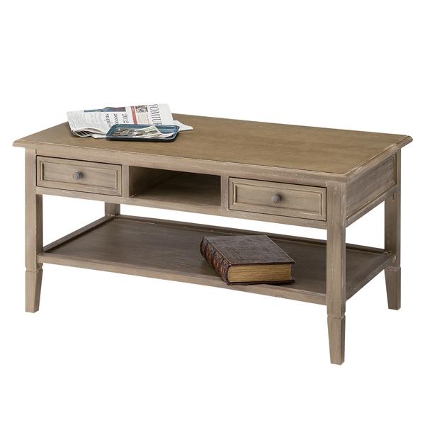 センターテーブル ローテーブル 引出し付 Aube 天然木 幅90cm ( 送料無料 テーブル 机 つくえ ダイニングテーブル 木製 完成品 北欧風 リビングテーブル 食卓 引き出し付き 引出付 ヴィンテージ風 )