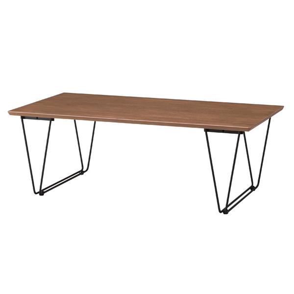 コーヒーテーブル ローテーブル スチールフレーム アーロン 幅110cm ( 送料無料 テーブル 机 センターテーブル アイアンフレーム カフェテーブル スチール脚 異素材 クール 個性的 スタイリッシュ )