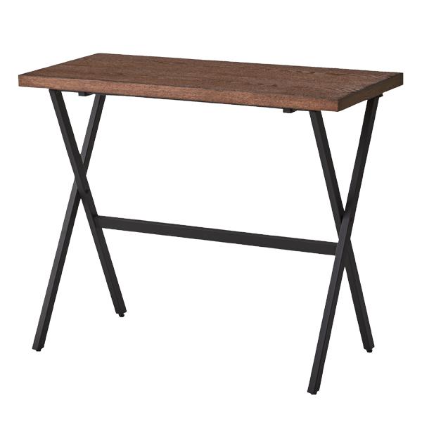 折りたたみテーブル 幅90cm フォールディングテーブル ( 送料無料 テーブル 折り畳み 作業テーブル ダイニングテーブル リビングテーブル 天然木風 作業台 折り畳み 折畳 折り畳みデスク フォールディングデスク )