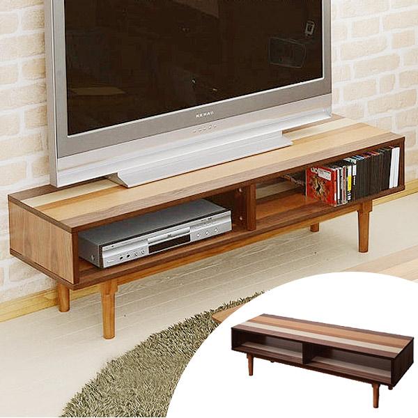 テレビボード テレビ台 YOGEAR(ヨギア) 天然木製 幅120cm ( 送料無料 TV台 AVラック TVボード ローボード ナチュラル )
