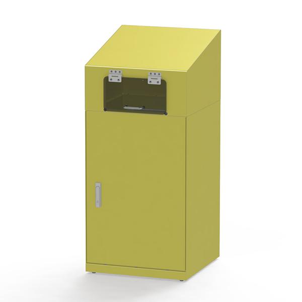 回収箱 小型家電回収ボックス 90L ( 送料無料 回収ボックス 小型家電 小型 家電 電化製品 リサイクル ゴミ箱 回収 ボックス 回収BOX 再利用 再資源 屋内用 )