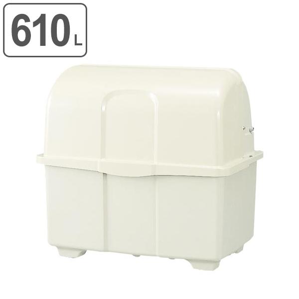 ゴミ大型保管庫 ジャンボペール HGシリーズ HG600F 固定足式 610L ( 送料無料 業務用 ごみ箱 ダストボックス 大型ごみ箱 大きいゴミ箱 キャスターなし 大型ゴミ箱 ダストBOX ジャンボ 大容量 屋外 屋外用 排水口 排水口付 )