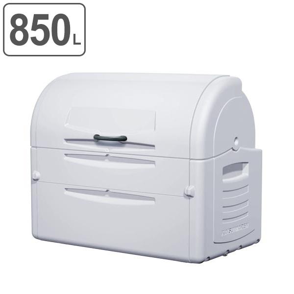 ゴミ大型保管庫 ジャンボペール PEシリーズ PE850 キャスターなし 850L ( 送料無料 業務用 ごみ箱 ダストボックス 大型ごみ箱 大きいゴミ箱 大型ゴミ箱 ダストBOX ジャンボ 大容量 屋外 屋外用 排水口 排水口付 )