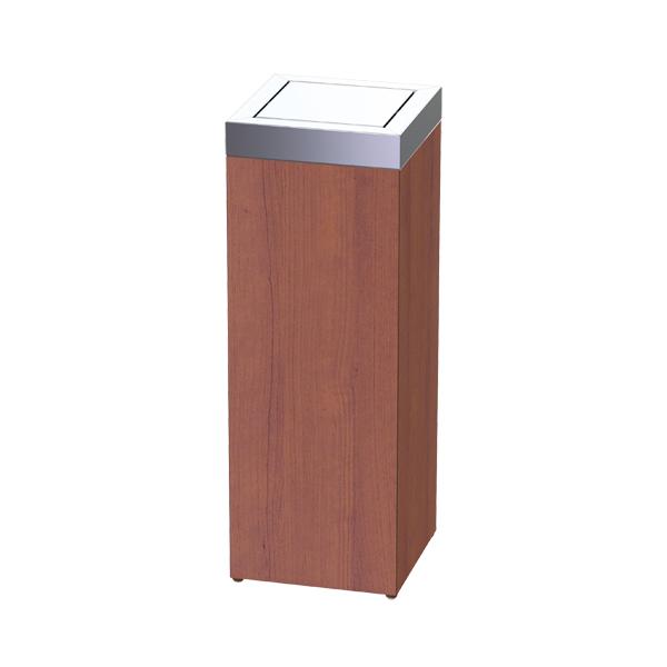 ゴミ箱 業務用 ウッド ROAST ロータリースタンド ( 送料無料 ダストボックス 屑入れ くずかご トラッシュボックス 施設 )