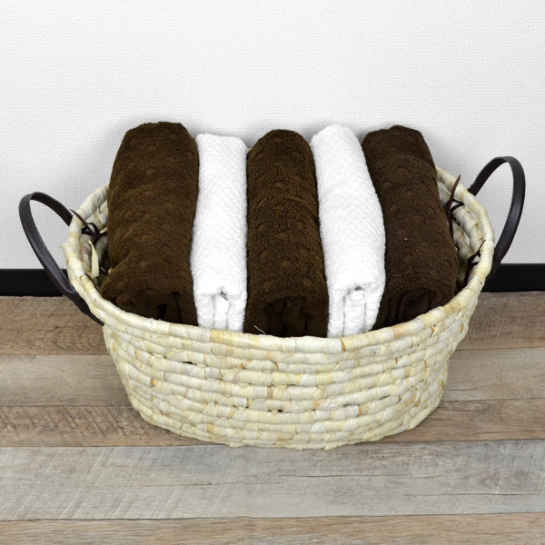 Soft basket yellow round ? basket the basket of laundry basket laundry basket Asian storage ? & livingut   Rakuten Global Market: Soft basket yellow round ? basket ...