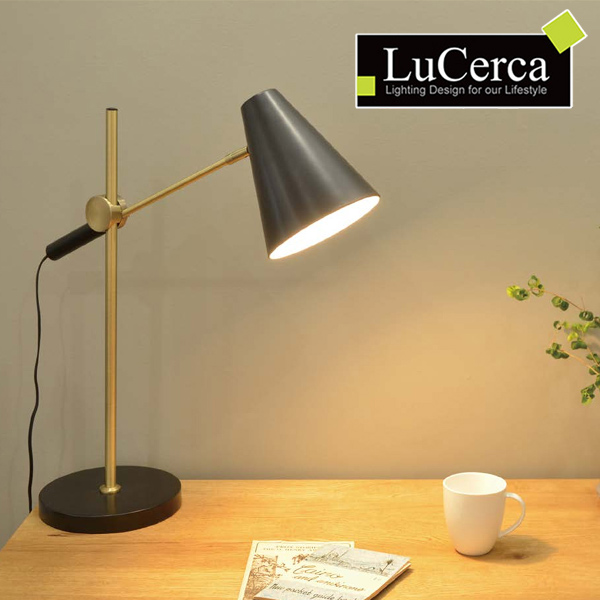 テーブルランプ led ブルック 間接照明 ) ブルックリン 北欧 LuCerca 寝室 おしゃれ ( 照明 ライト 送料無料 テーブルライト 卓上照明 照明 1灯 ダイニング リビング インダストリアル