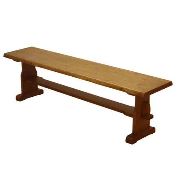 livingut | Rakuten Global Market: Bench chairs rustic natural wood ...
