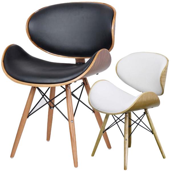 ダイニングチェア 椅子 ブルチーノ 幅52cm ( 送料無料 デザインチェアー イス ミッドセンチュリー デスクチェア パソコンチェア おしゃれ )
