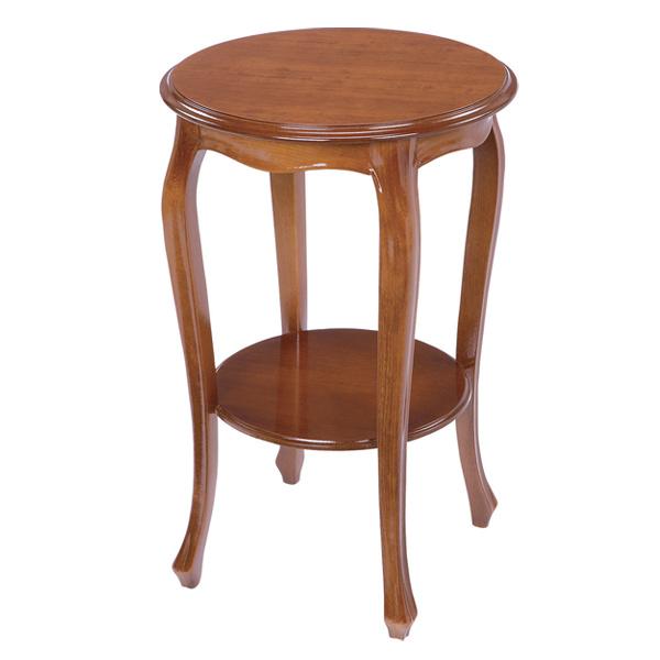 テーブル TRADITIONAL ラウンドコンソールテーブル ( 送料無料 花台 コンソール 飾り台 リビング ダイニング 玄関 電話台 花瓶 机 つくえ 猫脚 ディスプレイ 装飾台 彫像 )