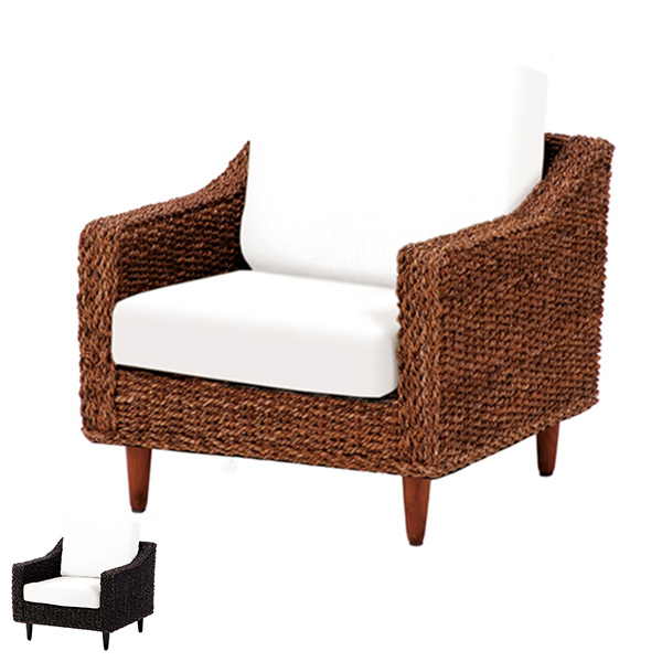 Seat Sofa Chair One Grants Abaca Material ( Asian Furniture Manila Sofa  Chair Chair Sofa Chair Living Chair )