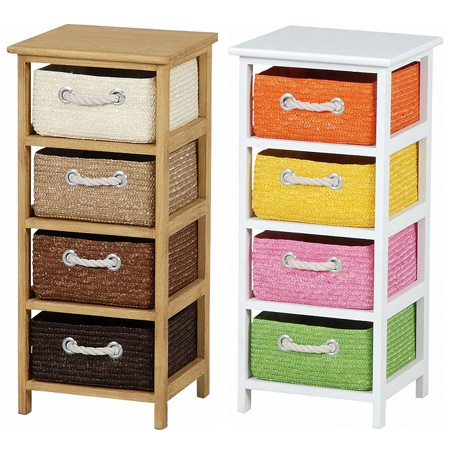 Laundry Chest Storage Chest Wicker Basket Slim  Drawer Storage Rack Storage Case Living Storage Toy Box Toilets Sanitary Childrens Room Cart Tallboy