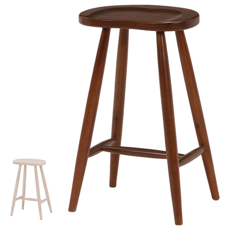 Stool Chair Chair Mahogany Beans Type Height 60 Cm (without Wooden Butt  Buttocks Back Counter Chair High Chair Bateer Grain Pattern)