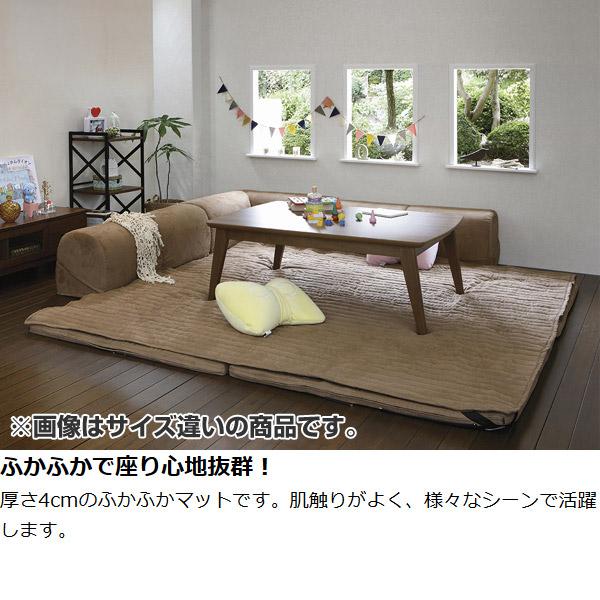 附带角靠垫安排层覆盖物的205x205cm低沙发(有角沙发靠垫的碎布垫子被炉垫被层沙发L字)