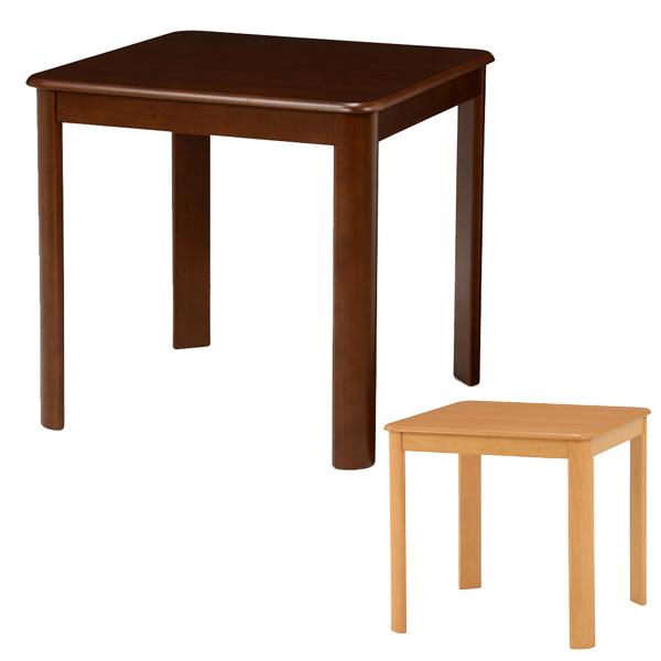 ダイニングテーブル 木製 食卓 正方形 75cm角 ( 送料無料 テーブル 机 つくえ デスク ダイニング リビング リビングテーブル シンプル ベーシック )
