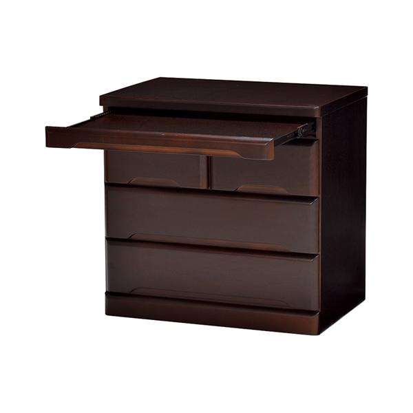 仏壇チェスト 3段 桐製 スライドテーブル付 幅60cm ( 送料無料 完成品 書類収納 木製 桐 桐チェスト スライド棚 引き出し ローチェスト 三段 サイドボード リビングボード 引き出し収納 収納棚 )