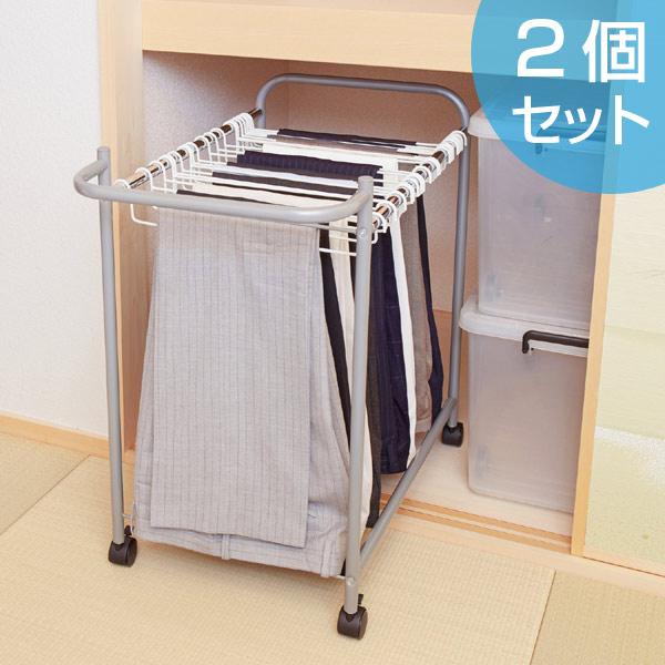 Closet Storage Pants Hanger (pants Storage Hanger Clothes Rack With Castors)