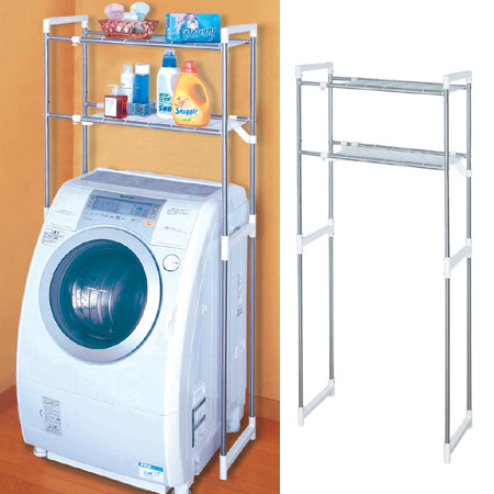 Washing Machine Cabinets Stainless Steel Laundry Rack Shelf 2 Stage  Telescopic (sanitary Of The Rack Of Washing Machines Laundry Storage Rack)  P25Jan15