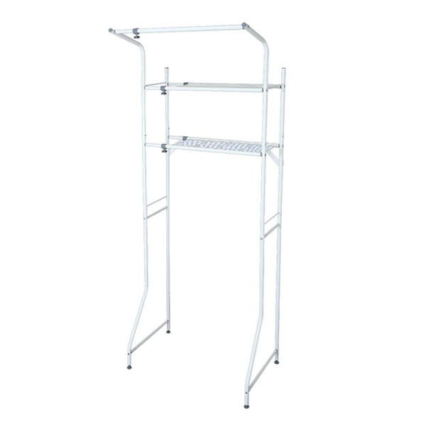 Landry Why Truck Washing Machine Shelf Shelf 2 Stage Telescopic ( Hanger  Bar Rack Rack Sanitary, Storage Washing Machine, Laundry )