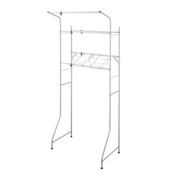 Basket Units With Laundry Rack Washing Machine Cabinets Shelf Telescopic (  Sanitary Racks Of Laundry Storage, Laundry Basket Washing Machine Rack  Hanger )