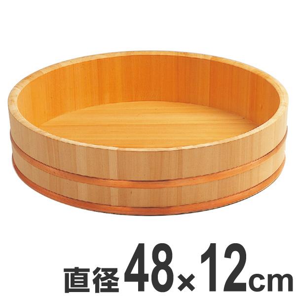 寿司桶 木製 尺6寸 飯切 飯台 桶 業務用 ( 送料無料 半切り 鮨 寿司 すし おけ ちらし寿司 盛り付け 大容量 大サイズ 飲食店 寿司屋 和食 )