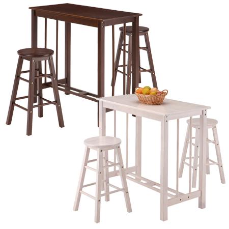 カウンターダイニング 天然木 3点セット ( 木製 ダイニングチェア ダイニングテーブル カウンターチェア カウンターテーブル 机 椅子 送料無料 )