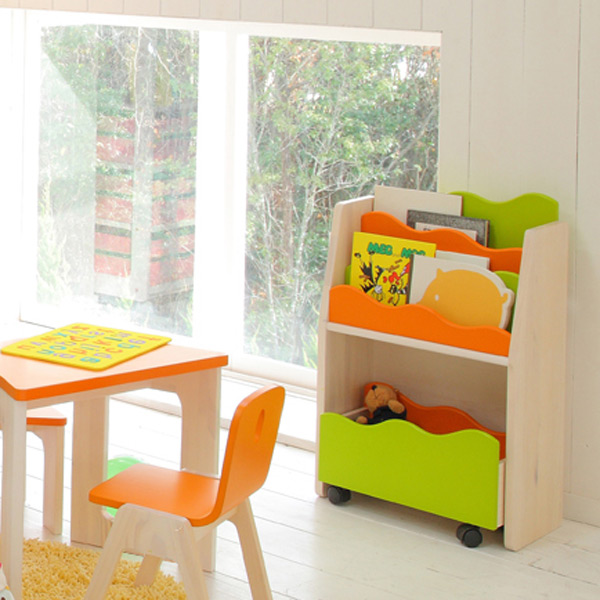 Kids picture book rack E-Ko (bookshelf bookshelf for the child for kids)