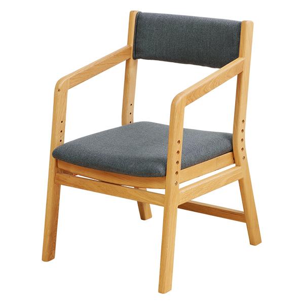 ゆったりチェアー E-Toko 椅子 チェア 木製 ( 送料無料 ダイニングチェアー 高さ調整 天然木 布製 ファブリック 食卓椅子 リビングチェア 布製 食卓イス )