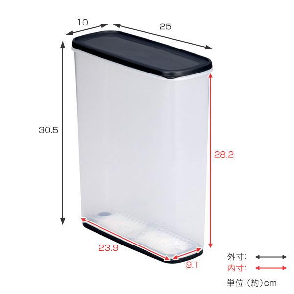 保存容器 乾物ストッカー 6L 乾燥剤付き 同色8個セット ( 保存ケース キッチンストッカー 収納容器 6リットル プラスチック保存容器 食品 保存 乾物保存容器 まとめ買い )|リビングート 楽天市場店